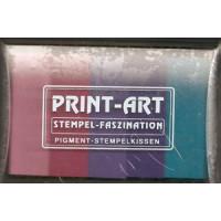 Embossing Stempelkissen blau/pinktöne