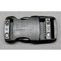 Schliesse LB25-R/ 25 mm schwarz