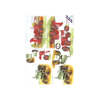 3D Bogen Le Suh A4, Traktor