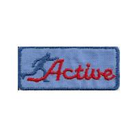 Active blau