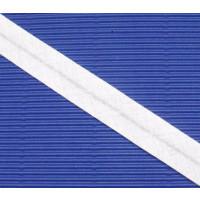 Schrägband gefalzt 100 % Co 40/20 mm weiss