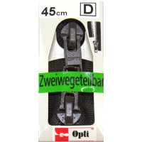 Opti RV-Zweiwege teilbar P60/45cm fb. 0881 braun