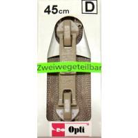 Opti RV-Zweiwege teilbar P60/45cm fb. 0886 beige