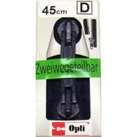 Opti RV-Zweiwege teilbar P60/45cm fb. 0210 blau