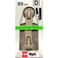 Opti RV-Zweiwege teilbar P60/50cm fb. 0886 beige
