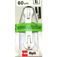 Opti RV Zweiwege teilbar P60/60cm fb. 0009 weiss