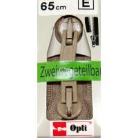 Opti RV-Zweiwege teilbar P60/65cm fb. 0886 beige