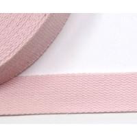 BW Gurtband 25mm fb. 74 rosa