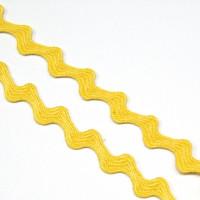 Zackenlitze 10 mm gelb
