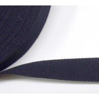 BW Gurtband 25mm fb. 23 dkl.blau