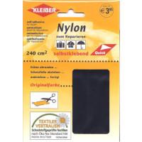 Nylonflicken 12 x 20cm selbstkl. schwarz