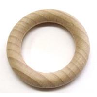 Holz-Ringe natur Außenm. D= 56mm Ringstärke 9mm