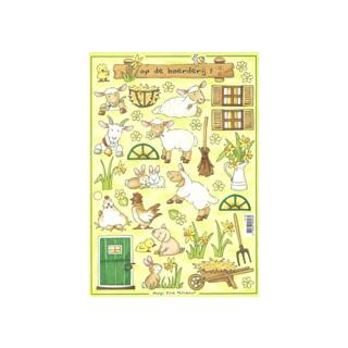 3D Bogen Le Suh A4, Landleben Schafe