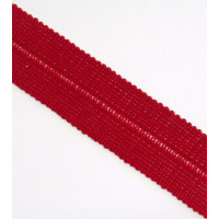 Einfassband Falzband El. MW 20mm fb. 30 rot