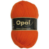 Opal Uni Socken- und Pulloverwolle orange fb. 5181