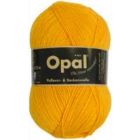 Opal Uni Socken- und Pulloverwolle sonnengelb fb. 5182