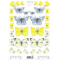 3D Bogen Le Suh A5, Schmetterlinge