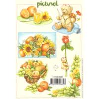 3D Bogen  A5, Früchte