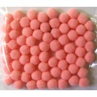 Pompons 7mm rosa SB-Beutel 70 Stück