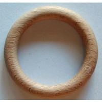 Holz-Ringe natur 72x12 mm