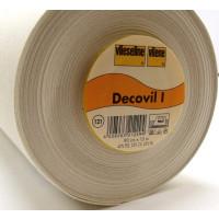 Decovil I Aufbügelbare Einlage br. 90 cm beige