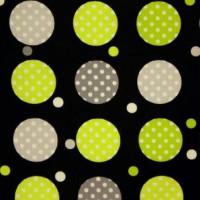 Contempo Dots gr. schwarz/grün/grau