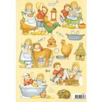 3D Bogen Le Suh A5, Landleben Kinder
