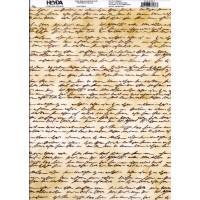 Transparentpapier Handschrift A4