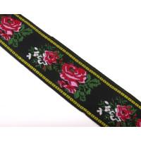 Rosenborte Jaquard PES 35 mm breit