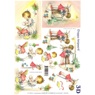 3D Bogen Le Suh A4, Kinder