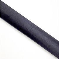 Schrägband Satin gefalzt 100 % PES 40/20 mm dkl. blau