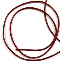 Lederband Ziege D= 1,5 mm L 1 m bourdeaux