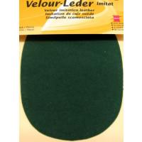 Kleiber Velour-Leder 13x10cm patina 2 Stück