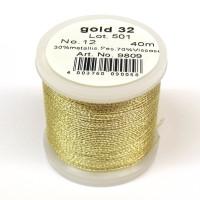 Maderia Metallicgarn  Nr. 12/40m gold-32