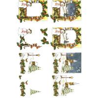 3D Bogen Le Suh A4, Winterlandschaft
