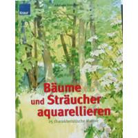Bäume und Sträucher apuarellieren  Knaur Verlag