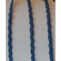 Kordelband blau