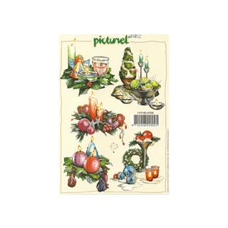 3D Bogen Weihnachtsmotive m. Hologr. 1 Stck.