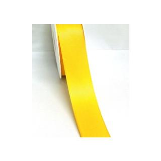 Taftband 40 mm maisgelb