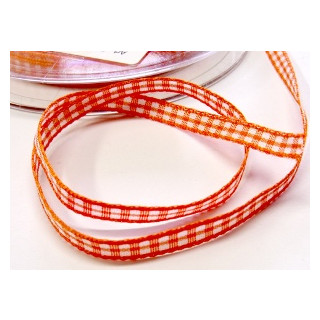 Karoband Vichy 5 mm orange