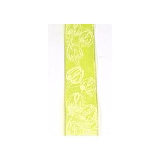 Drahtb.Tulpen 25mm gelb