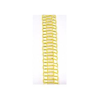 Drahtb.Gitter 25mm gelb