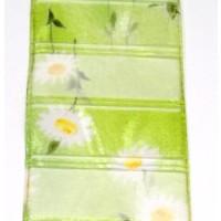 Transparent-Florband 60 mm zartes grün