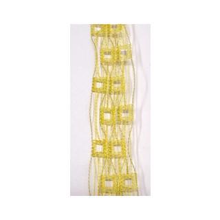 Drahtb.Gitter 45 mm gelb