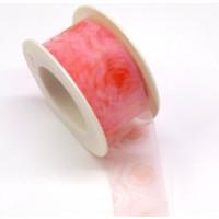 Transparent-Band Rosen 40 mm rosa
