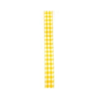 Karoband Landhaus 10 mm gelb